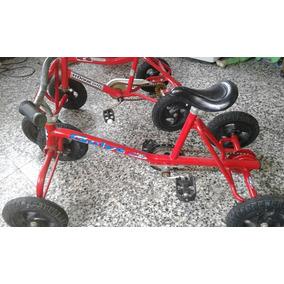 Cuatriciclos A Pedal Usados Con Monopatín De Regalo!!!!