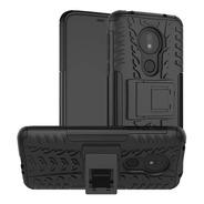 Estuche Antichoque Jkase Motorola Moto G7 Power - Negro