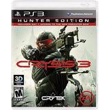 Ps3 Crysis 3 Hunter Edition Nuevo Sellado Fisico
