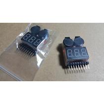 Medidor De Bateria Buzzer Lipo 1 A 8s