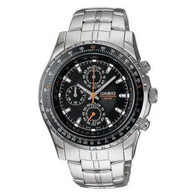 Reloj Casio Mtp4500 Cronografo Bicel Giratorio Acero