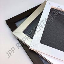 Tela Mosquiteira Montada Fixa Ou Removível De Alumínio Top