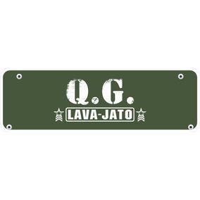 Placas Em Pvc Personalizadas Garagem - Lava Jato - Nomes