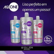 Agi Max One Intenseliss/ Shampoo Que Alisa 1litro