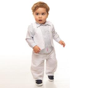 Conjunto Infantil Masculino Para Batizado Portinari 01220043