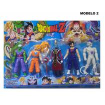 Bonecos Dragon Ball Z Articulados Goku Kit Com 5 Promoção