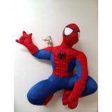 Boneco Pelúcia Homem Aranha Vingadores Avengers C/ Som