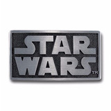 Star Wars Hebilla 100% Original De Pewter, Lucas Film