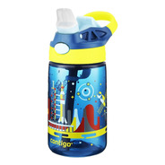Squeeze Infantil 414ml Garrafa Bico Canudo Anti Vazamento