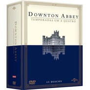 Downton Abbey 1ª A 4ª Temporadas - Box Com 15 Dvds - Novo