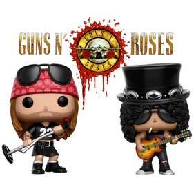Guns N´roses Axl E Slash Gn´r - Funko Pop