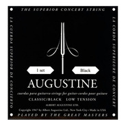 Encordado Augustine Classic Black Low Tension
