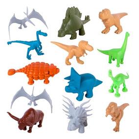 Tubo De 25 Figuras Un Gran Dinosaurio Disney