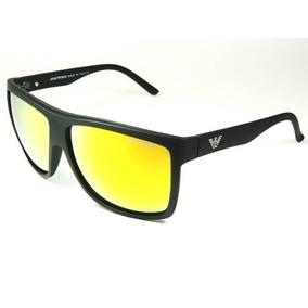 Oculos De Sol Espelhado Amarelo Armani - Óculos De Sol no Mercado ... a3645b2e2c