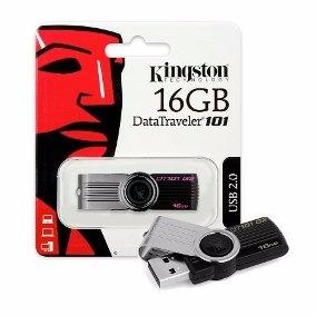 Pendrive Kinsgton Datatravel 16gb Usb 2.0