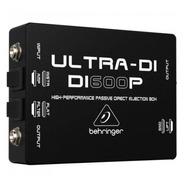 Direct Box Passivo Di600p Ultra Di - Behringer +nf+garantia - Com Nota Fiscal E Garantia De 2 Anos Proshows!