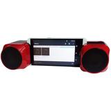 Bocinas Estereo Rca Portatil Bluetooth Y Auxiliar Bt57656rd