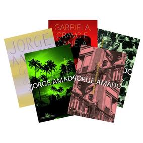 Kit Com 5 Livros Jorge Amado + Dicionario