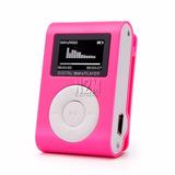 Mini Reproductor Mp3 Pantalla Lcd Shuffle Radio Fm N2m