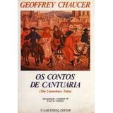 Livro Geoffrey Chaucer Os Contos De Cantuaria