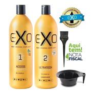 Exo Hair Alisamento Exoplastia Capilar 2 X 1 Litro + Brinde