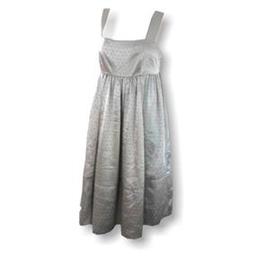 Vestido Express Talla Chica Plata Ropa Ty7