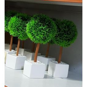 Topiarios Verdes / Arbol De La Vida Artificial