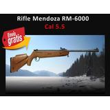 Rifle Deportivo Mendoza Rm-6000 Cal.5.5 Envio Gratis