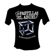 Remera Negra - Las Pastillas Del Abuelo - Lpda - Rock Bandas