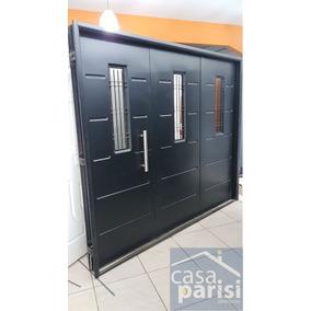 Porton/garage/abrir Chapa Inyectado Chapa 18 2,40 X 2,00
