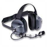 Audifonos Diadema Headset Noise Cancel Racing Fibra Carbon