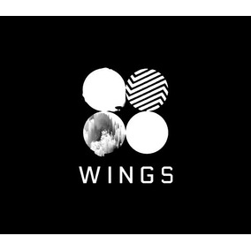 Kpop Bts Wings Black + Brinde
