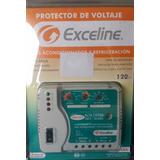 Protector De Voltaje Aire Acondicionado 120v Bornera Mx18000