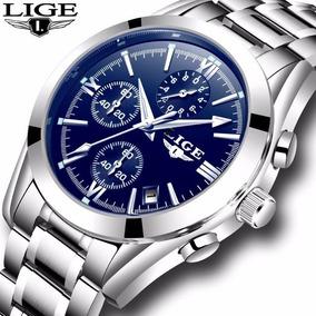 1ea319f5891 Relogio Fundo Azul 41mm - Relógios De Pulso no Mercado Livre Brasil