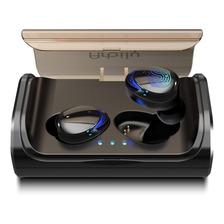 Audifonos Bluetooth Resistentes Al Agua Manos Libre Luz Azul