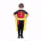 Fantasia Do Robin Infantil Longa Luxo Batman Sulamericana