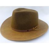 Sombrero Kot Paño Y Cuero Combinado | Gorras Y Sombreros