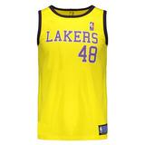 Camisa Lakers Basquete Uniformes - Camisas de Basquete no Mercado ... 04b503cce