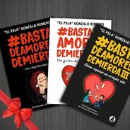Pack Basta De Amores De Mierda 1 2 Y 3 - Pela Gonzalo Romero