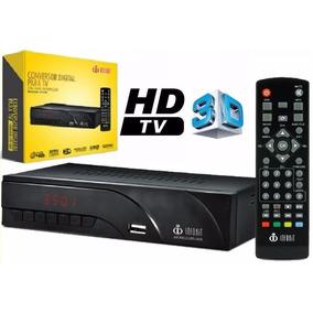 Conversor Tv Digital Filtro 4g Hdmi Usb Gravador 3d Itv-400