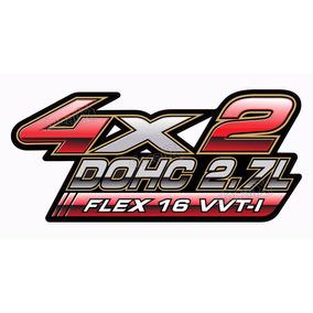 Adesivo Toyota Hilux 4x2 Dohc 2.7l Flex 16v Par Hlx09422