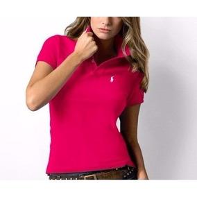 Camisa Kit C/ 10 Pólo Feminina. Varias Marcas