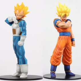Goku E Vegeta Dragon Ball Z Action Figure 2pçs