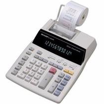 Calculadora De Mesa Sharp El-1801v Com Bobina - Original Top