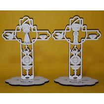 Souvenir Cruz Confirmación Comunión De Madera Personalizado