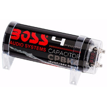 Boss Power Capacitor 4 Faradios Voltimetro Led