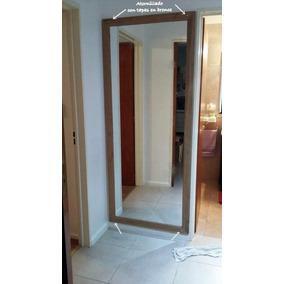Espejos decorados espejos con marco artesanal en mercado for Espejos de cuerpo completo modernos