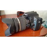 Camara Reflex Canon Eos Rebel T1i + Lente Tamron 18-270