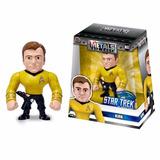 Figura De Acción Star Trek Kirk 10cm Die Cast Metal Orig!!