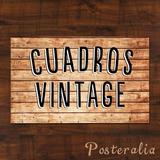 Cuadros Decorativos Estilo Vintage Retro